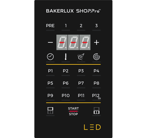 UNOX BAKERLUX SHOP.Pro™ LED panel